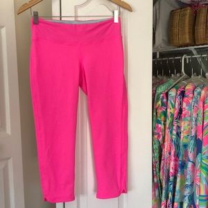 LP Hot Pink Luxletic Leggings